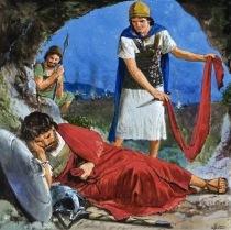 David Spares Saul (1 sam. 24) - 1