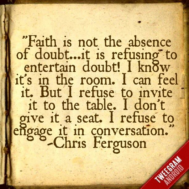 meaning faith Now faith is the confidence that we shall receive the things for which we hope, the proof of the reality of things we do not see it was because of their faith that the men of old were.